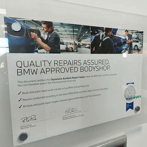 BMW Approved Bodyshop