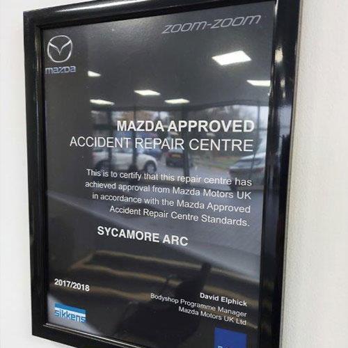 Mazda Approved Bodyshop